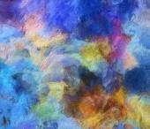 """Постер, картина, фотообои """"Современная живопись стена арт декор. Абстрактный рисунок фона. Дизайн иллюстрации. Мазки кистью на холсте. Художественные картины. Творческие моды печати. Хорошо, как психоделический плакат. Сюрреалистический Графический абстракция."""""""