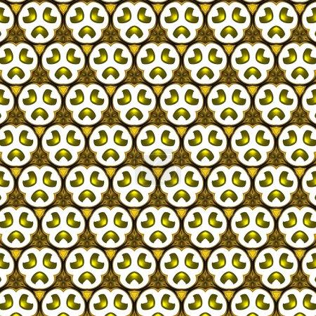 Photo pour L'abstraction d'or liquide. Décor art mural de luxe. Thème riche œuvre fractale. Peinture graphique dorée à l'huile. Modèle de conception créative pour les produits d'impression. Élément pour cartes de décoration ou invitation - image libre de droit