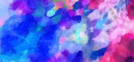 Abstract texture background Digital painting