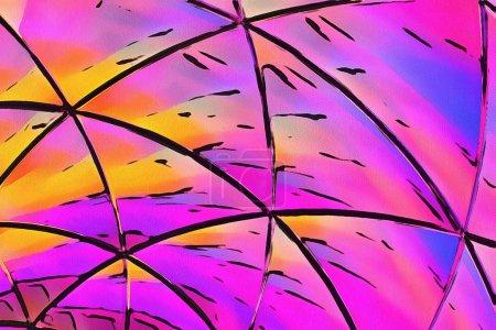 Peinture abstraite, Art mural, Impression sur toile, Peinture à l'huile, Dessin moderne, Coups de pinceau texturés, Impressionnisme contemporain, Couleurs chaudes, Modèle de conception psychédélique, art surréaliste