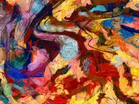 Vincent Van Gogh style oil