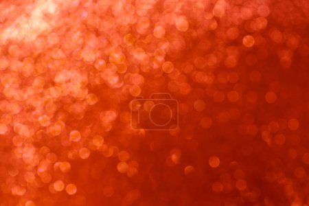 Red lights bokeh bright background