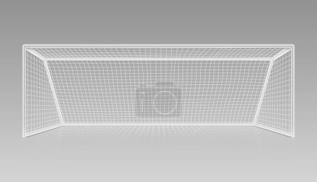 Football soccer goal realistic sports equipment