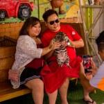 SRI RACHA, THAILAND - JANUARY 13, 2019: Tourists p...
