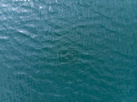 Photo for Azure water texture. graphic resources. design concept - Royalty Free Image