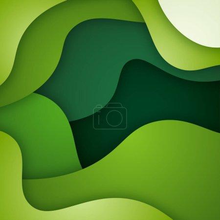 Foto de Fondo líquido y geométrico colorido con formas de gradiente fluido - Imagen libre de derechos