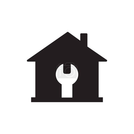 Photo for RENOVATION ICON CONCEPT on white background - Royalty Free Image