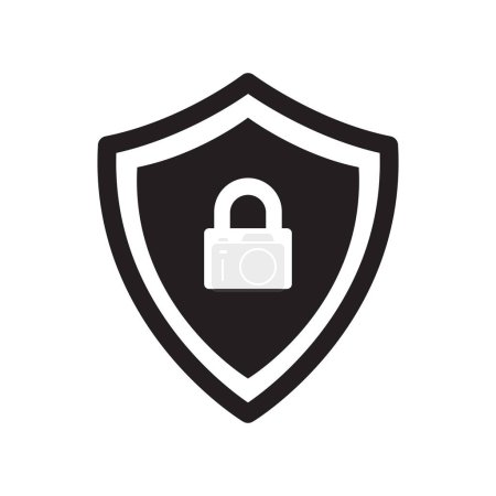 Photo for PROTECTION ICON CONCEPT on white background - Royalty Free Image