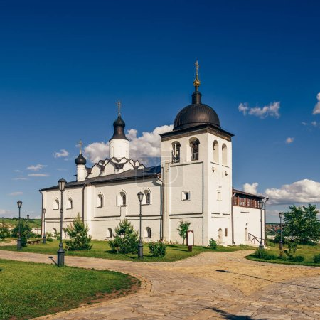 Temple of St. Sergius of Radonezh on Sviyazhsk Island in Russia.