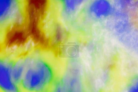 Foto de Fondo abstracto de color, colores mezclados - Imagen libre de derechos