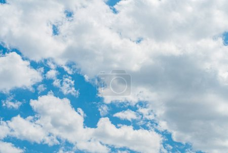 Photo for Blue sky with white clouds. Sky background. - Royalty Free Image
