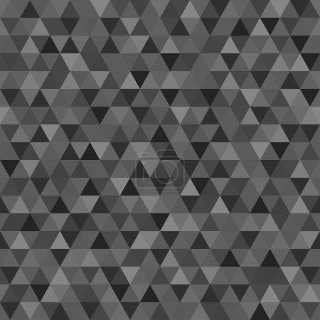 Modèle de triangle sans couture. Papier peint coloré de la surface. Arrière-plan tuile. Impression pour la polygraphie, affiches, t-shirts et textiles. Texture unique. Caniche pour le design