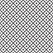 Seamless geometric texture of the surface Abstract dotted pattern with trapeziums Grid background Print for polygraphy posters t-shirts and textiles Doodle for design