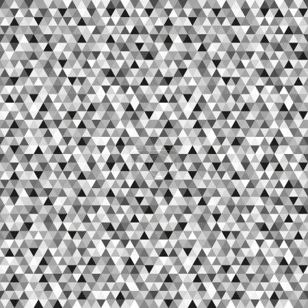 Modèle de triangle. Grille papier peint de la surface. Fond de tuile sans couture. Modèle pour dépliants, affiches, t-shirts et textiles. Texture unique. Caniche pour le design