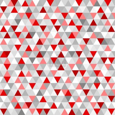 Modèle de triangle sans couture. Papier peint géométrique abstrait de la surface. Arrière-plan tuile. Impression pour la polygraphie, affiches, t-shirts et textiles. Texture unique. Caniche pour le design