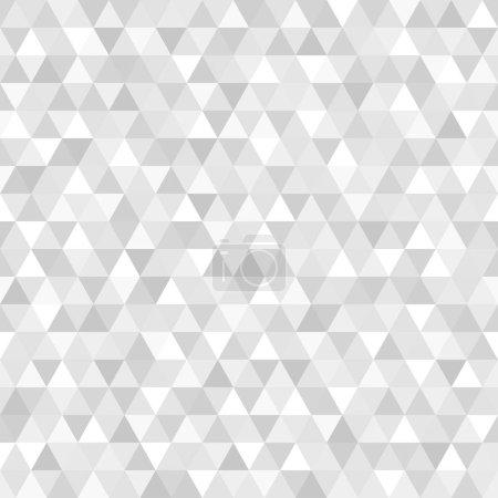 Modèle de triangle sans couture. Papier peint de la surface. Arrière-plan tuile. Impression pour la polygraphie, affiches, t-shirts et textiles. Texture unique. Caniche pour le design
