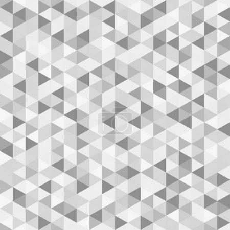 Modèle de triangle. Papier peint sans couture de la surface. Arrière-plan tuile. Impression pour la polygraphie, affiches, t-shirts et textiles. Texture unique. Caniche pour le design