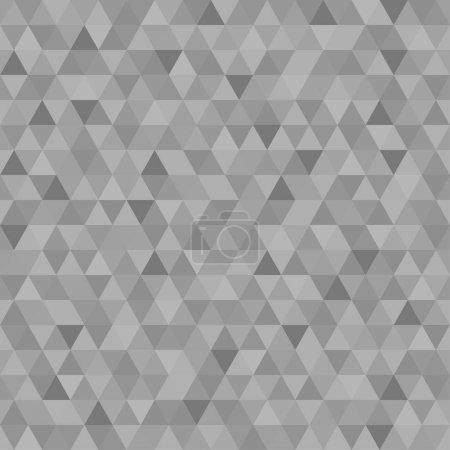 Modèle de triangle sans couture. Couleurs pastel. Papier peint géométrique abstrait de la surface. Fond monochrome. Impression pour la polygraphie, affiches, t-shirts et textiles. Belle texture. Caniche pour le design