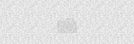 Modèle de triangle sans couture. Papier peint de la surface. Arrière-plan tuile. Impression pour la polygraphie, affiches, t-shirts et textiles. Texture unique. Doodle pour le design. Illustration noir et blanc