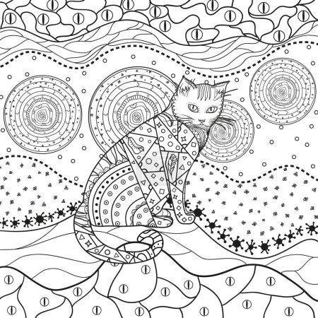 Illustration. Art creation