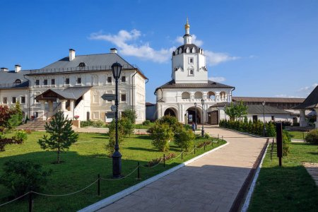 View of the Assumption male monastery of 16th century. Town of Sviyazhsk, Republic of Tatarstan, Russia.