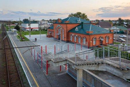 Sviyazhsk railway station. Nizhniye Vyazovye, Republic of Tatarstan, Russia.