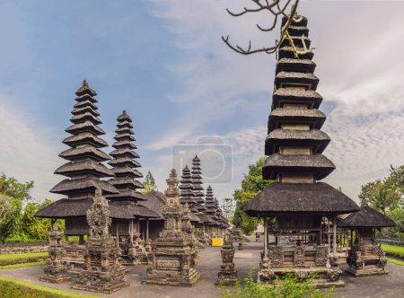 scenic view of balinese hindu Temple Taman Ayun in Mengwi, Bali, Indonesia