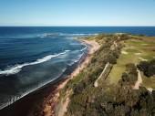 Aerial view of Long Reef Headland  (Sydney NSW Australia)