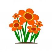 flower icon vector illustration