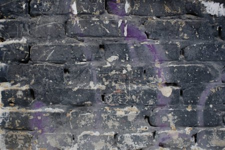 abstract shabby brick wall structure