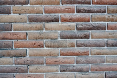 Photo for Abstract shabby brick wall structure - Royalty Free Image