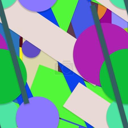 Photo pour Schéma géométrique créatif continu, arrière-plan - image libre de droit