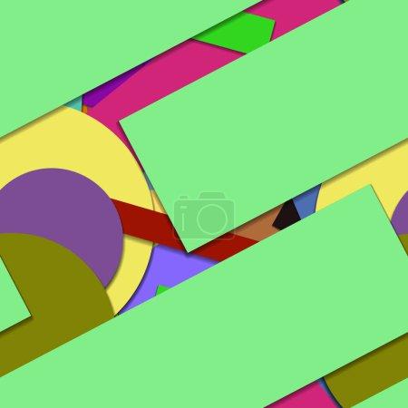 Foto de Modelo geométrico creativo sin fisuras, fondo - Imagen libre de derechos