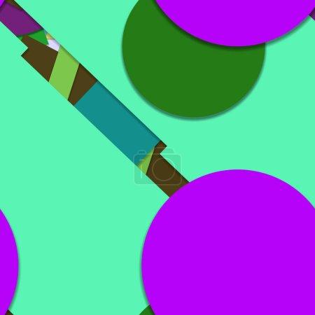 Foto de Creative  geometric seamless pattern, background - Imagen libre de derechos