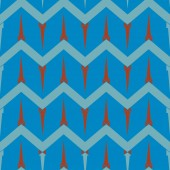 color seamless pattern with cartoon camping tents