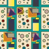 """Постер, картина, фотообои """"абстрактные векторные иллюстрации геометрической красочным узором"""""""