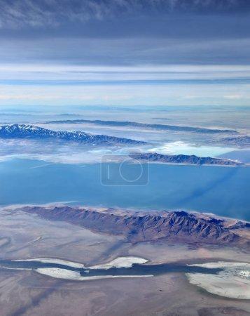 The otherworldly landscape of the Great Salt Lake in Utah