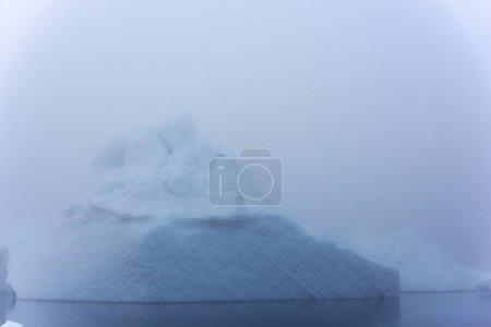 Photo pour Icebergs arctiques sur l'océan Arctique au Groenland - image libre de droit