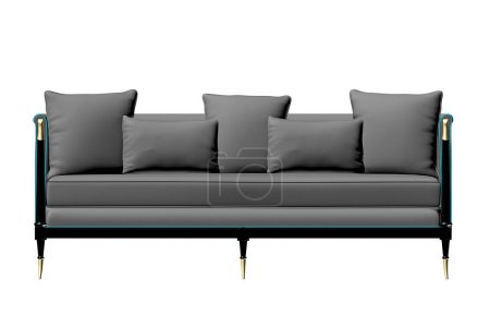 Photo for 3d render of design sofa - Royalty Free Image