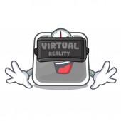 Virtual reality weight scala on the mascot table