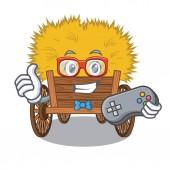 Gamer cartoon hayride toy in a drawer