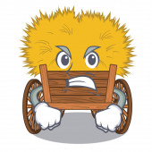 Angry cartoon hayride toy in a drawer
