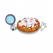 Detective bruschetta in the a cartoon lunchbox