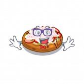 Geek bruschetta in the a cartoon lunchbox
