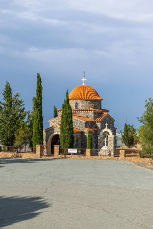 Photo for Ancient greek orthodox church in the city of crete - Royalty Free Image