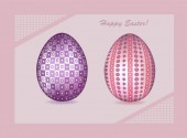Happy Easter Vector Background 01