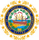 Coat of arms of New Hampshire USA