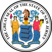 Coat of arms of New Jersey United States