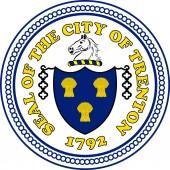 Coat of arms of Trenton in California United States