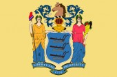 Flag of New Jersey USA